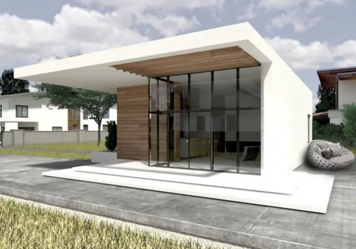 proiecte de case mici cu doua dormitoare Two bedroom small house plans 7