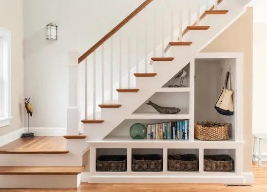 utilizarea spatiului de sub scari under stairs storage ideas 5