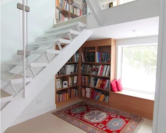 utilizarea spatiului de sub scari under stairs storage ideas 7