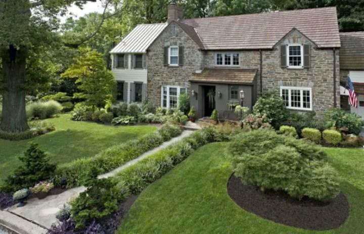 Amenajarea gradinii din fata casei front yard landscape ideas 1