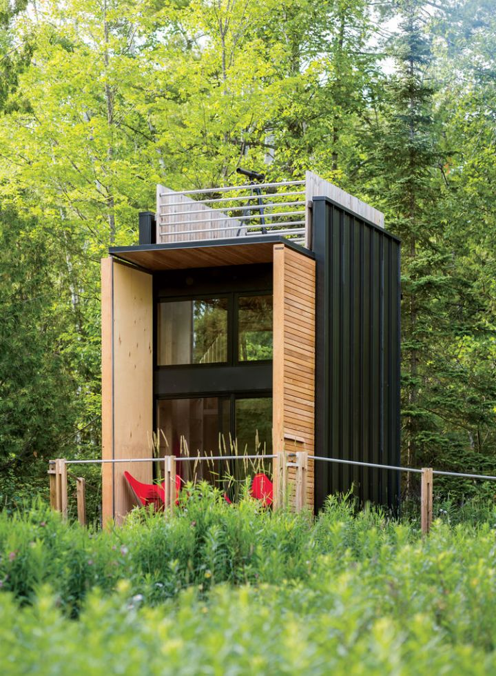 cabana ecologica off-grid cabin