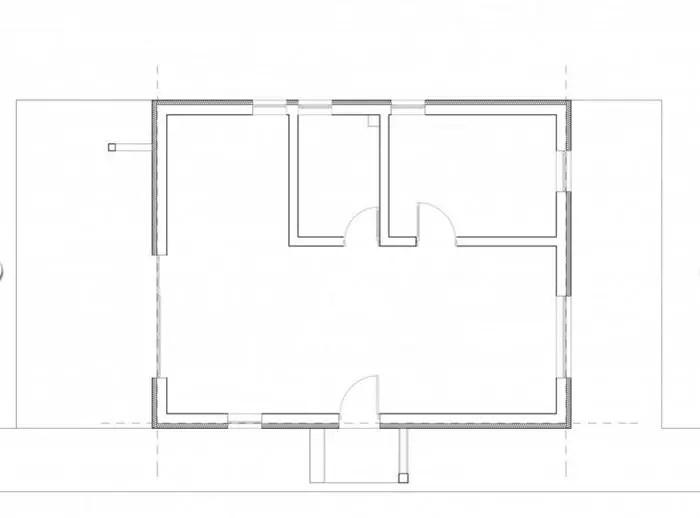 case mici cu un dormitor One bedroom house plans 11