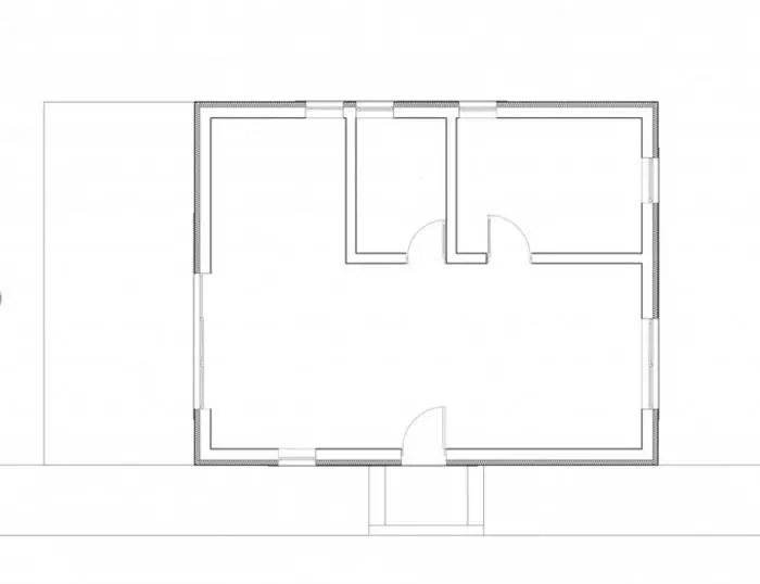 case mici cu un dormitor One bedroom house plans 6