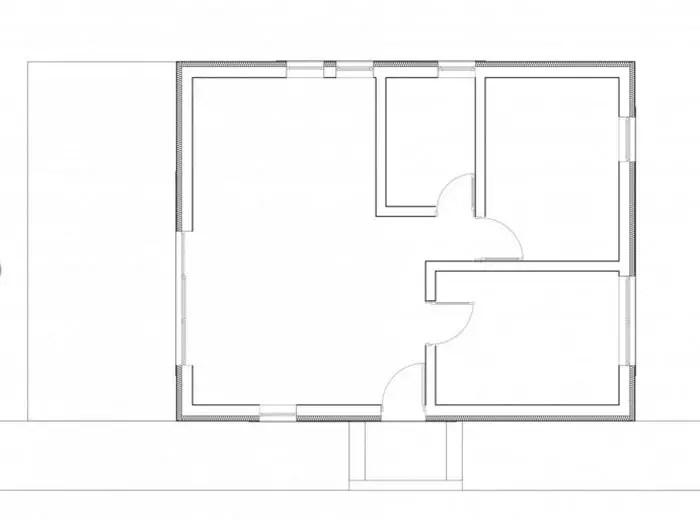 case mici cu un dormitor One bedroom house plans 7