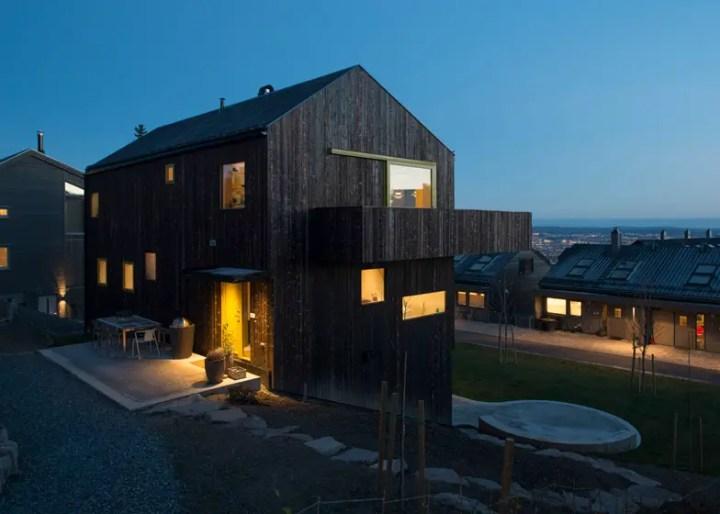 case norvegiene din lemn norwegian wood houses 9