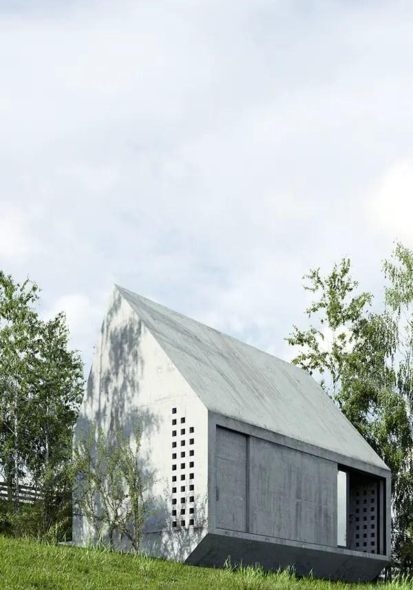 case prefabricate din beton precast concrete houses 11