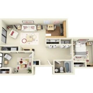 Idei pentru amenajarea unui apartament cu 3 camere frumos