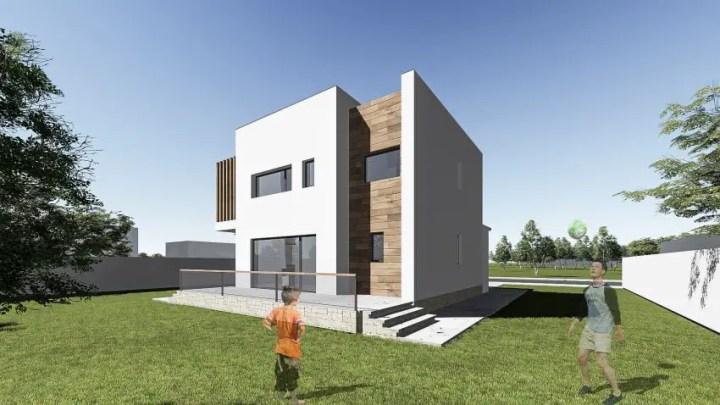 proiecte de case mici cu un etaj Two story small house plans 9