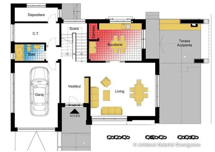 proiecte de case spatioase Spacious house plans 10
