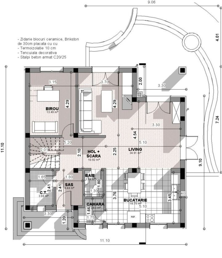 proiecte de case spatioase Spacious house plans 3