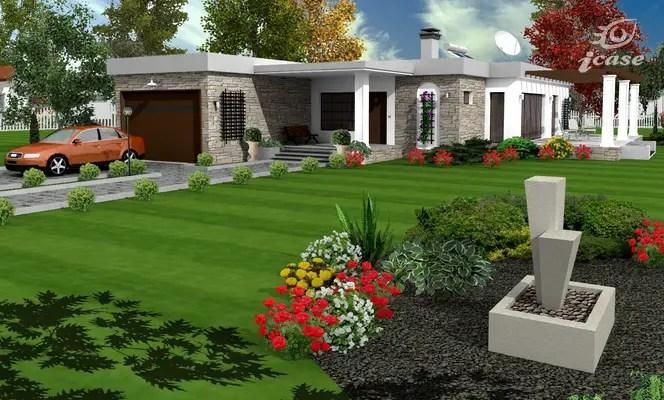 Proiecte de case spatioase si elegante