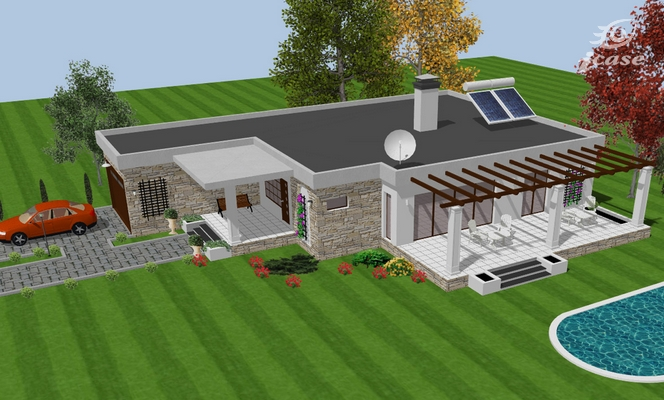 proiecte de case spatioase Spacious house plans 6