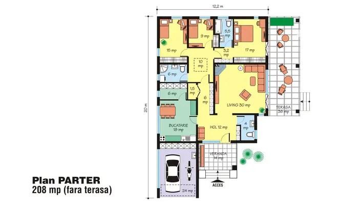proiecte de case spatioase Spacious house plans 7