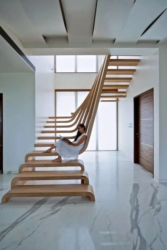 scari intrioare pentru case Interior staircase design ideas 11