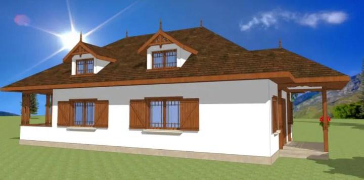Stiluri de case romanesti frumoase