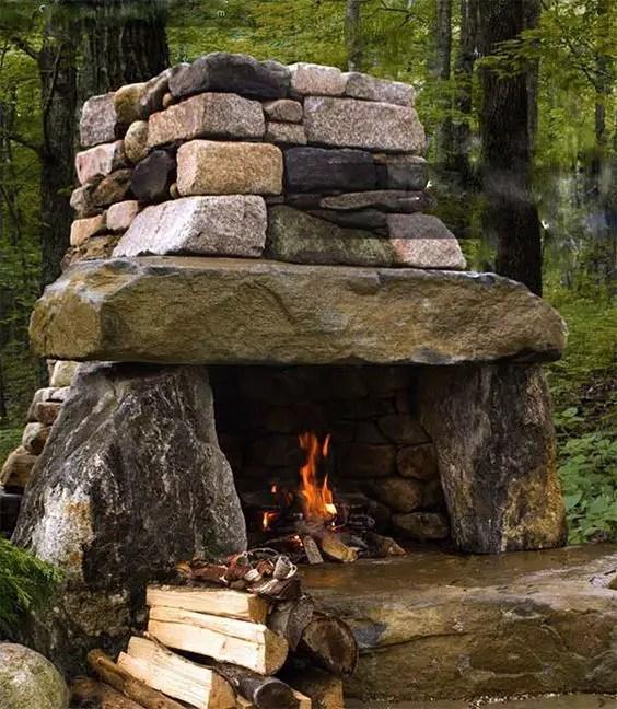 Cuptoare de gradina din piatra outdoor stone ovens 9