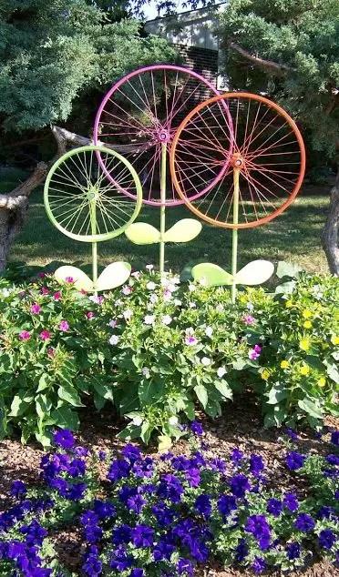 Decoratiuni de gradina facute acasa diy garden decoration ideas 12