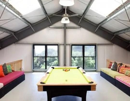 amenajarea unei mansarde mici small attic room design ideas 10
