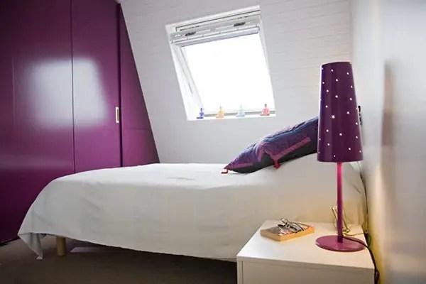 amenajarea unei mansarde mici small attic room design ideas 7