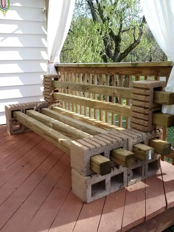 Banci din lemn pentru gradina acasa