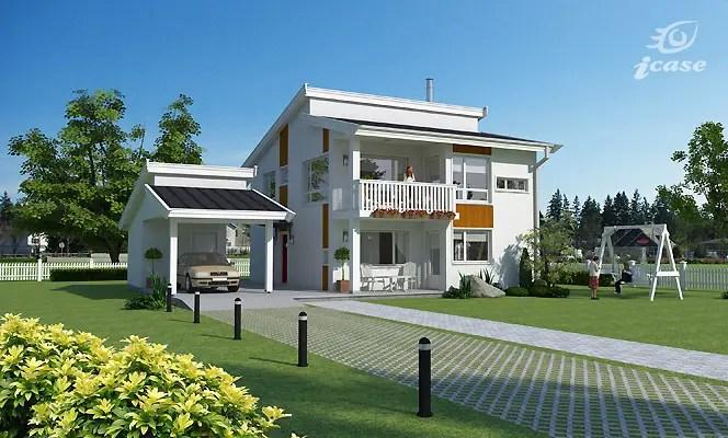 Case cu etaj moderne si noi