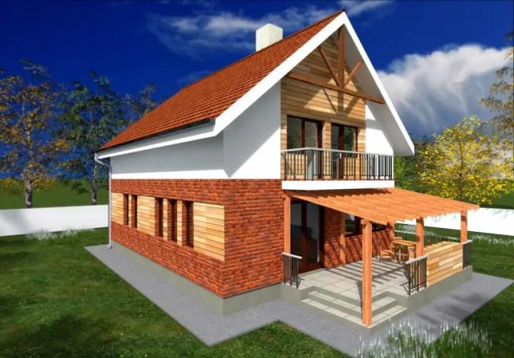 case cu mansarda sub 150 de metri patrati attic houses under 150 square meters 11