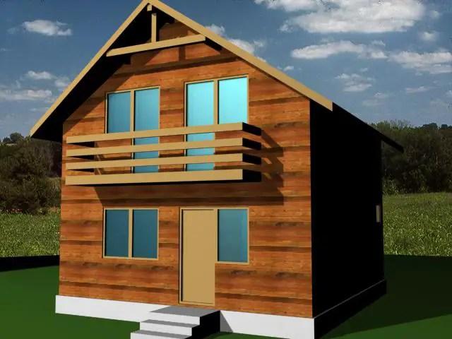 Case din barne de lemn masiv - clasic, dar captivant