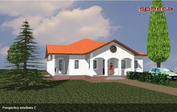 case mici cu trei dormitoare Small three bedroom house plans 11