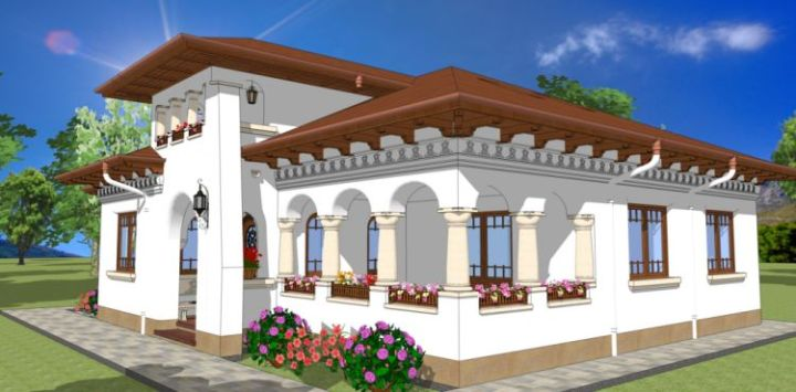 case traditionale romanesti romanian traditional houses 12