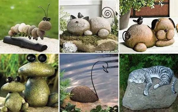 decoratiuni de gradina din piatra Garden stone decorations 5