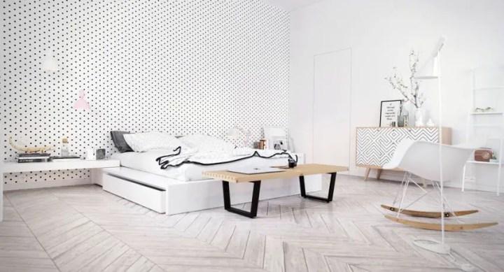 dormitoare scandinave Scandinavian bedrooms 1