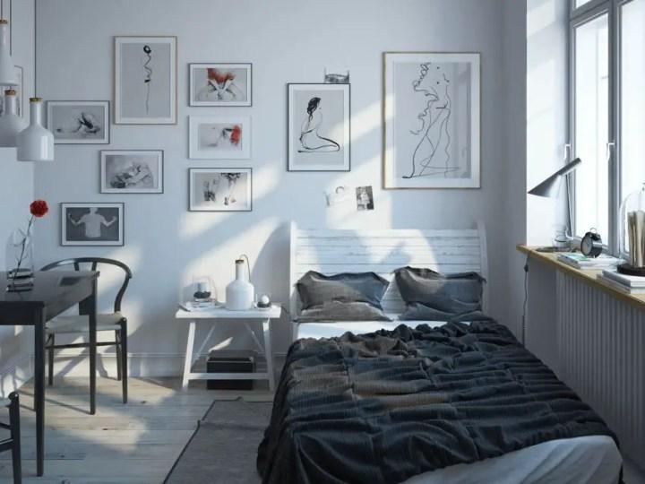 dormitoare scandinave Scandinavian bedrooms 5
