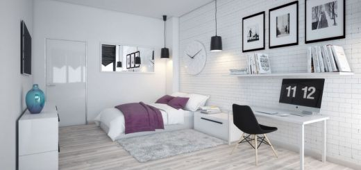 Dormitoare scandinave frumoase