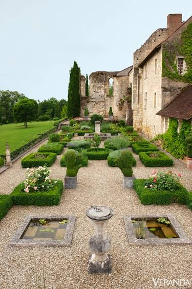 gradini in stil francez frech style gardens 10