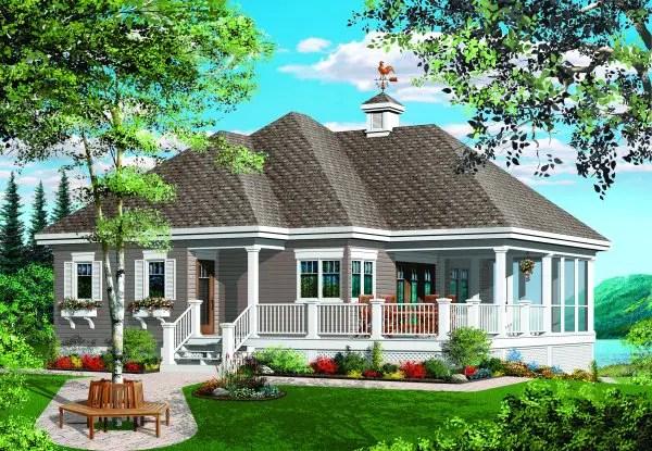 Modele de case cu terase inchise - fatade in contraste superbe
