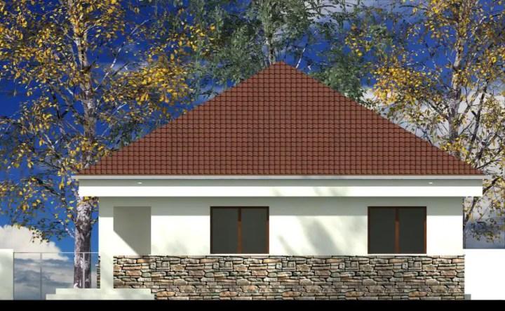 proiecte de case cu piatra de rau Houses with river stone veneer 2