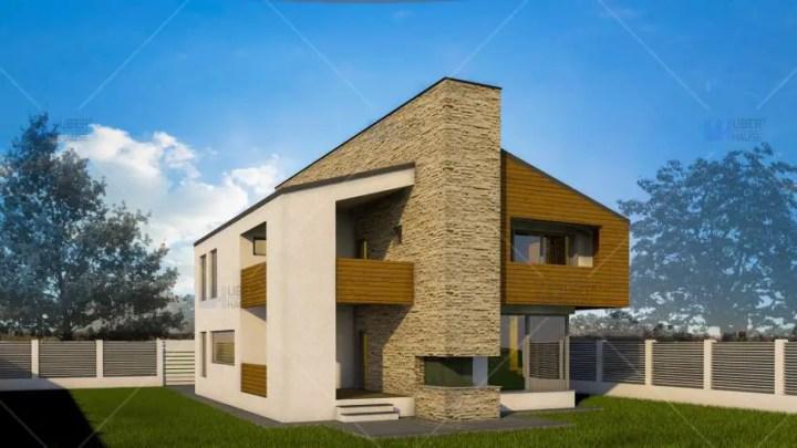 Proiecte de case cu semineu la parter