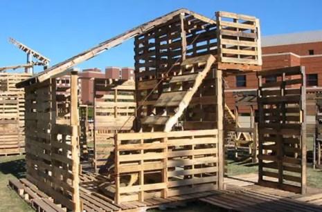case construite din paleti Wood pallet houses 14