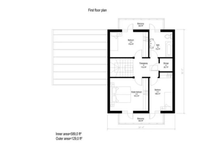 case din panouri din lemn wood panel house plans 15