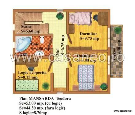 case din panouri termoizolante Sandwich panel homes 11