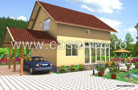 case din panouri termoizolante Sandwich panel homes 14