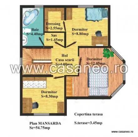 case din panouri termoizolante Sandwich panel homes 15