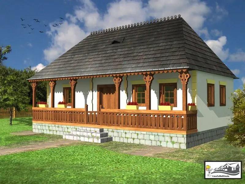 case taranesti peasant houses 10