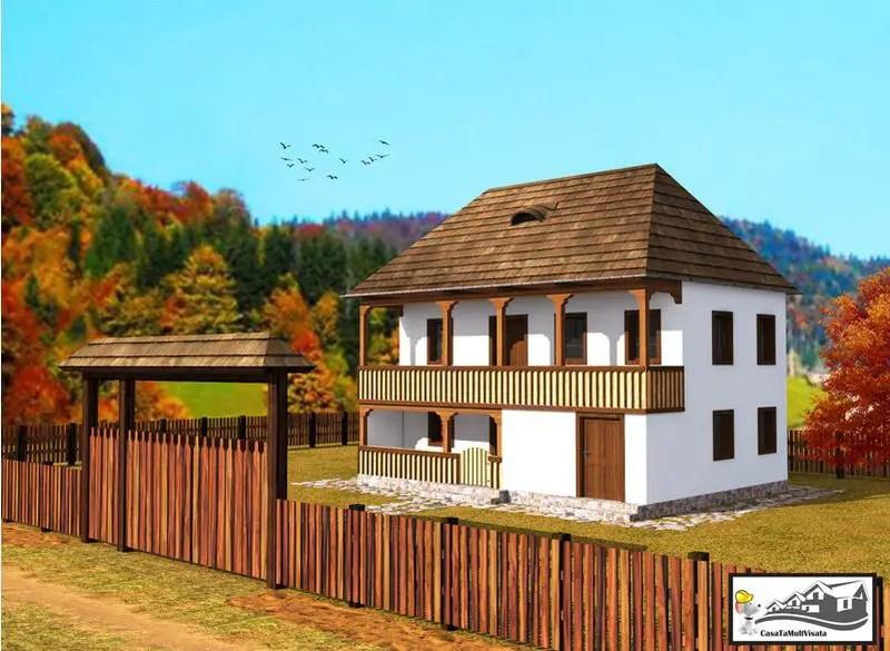 case taranesti peasant houses 8