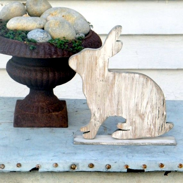 decoratiuni de paste in gradina Outdoor Easter decorations 7