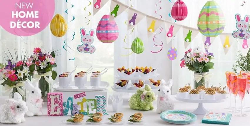 decoratiuni pentru masa de Paste Table Easter decorations 1