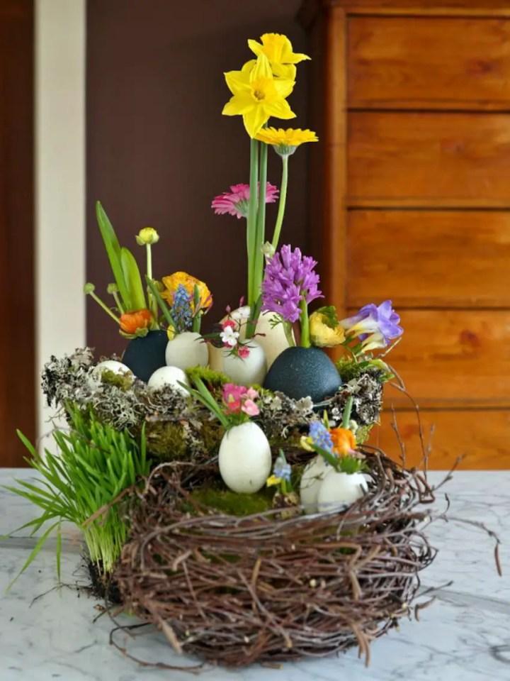 decoratiuni pentru masa de Paste Table Easter decorations 14