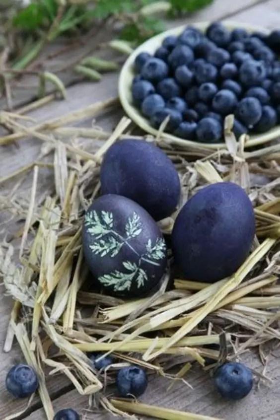 decoratiuni pentru masa de Paste Table Easter decorations 4