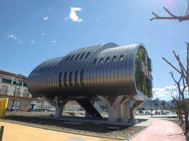 Casa viitorului - design futurist care pune umarul la economia de energie