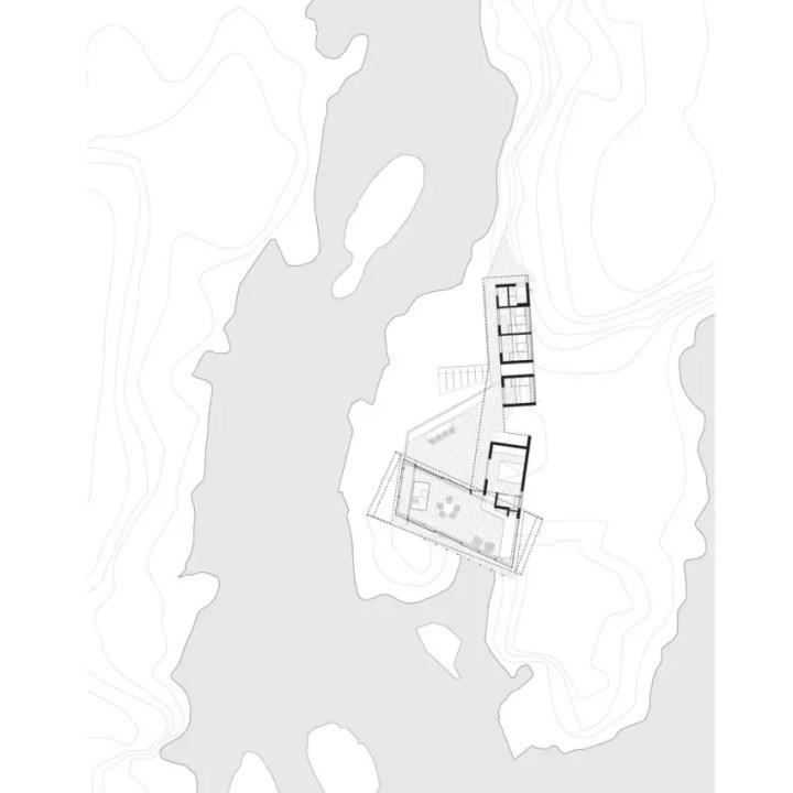 Design contemporan - topografia locului unde este amplasata casa